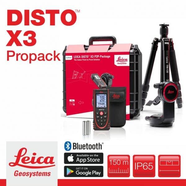 Leica Disto X3 P2P ProPack