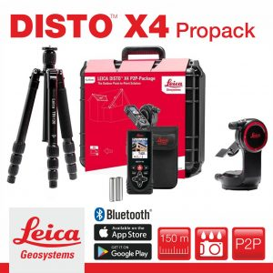 Leica Disto X4 P2P ProPack